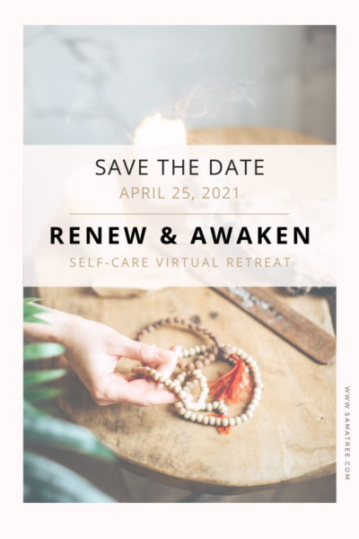 Save the Date, Renew & Awaken Virtual Retreat